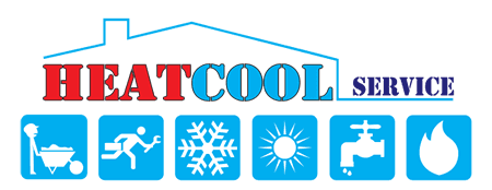 HEAT COOL SERVICE - LOGO