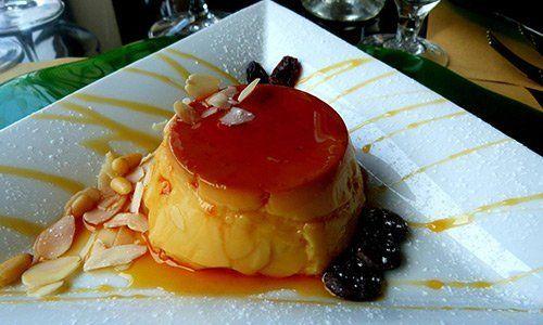 Moma's Restaurant a Pistoia - Creme caramel