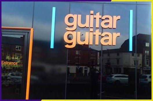 guitar guitar sign