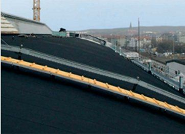 Single ply membrane - Hereford - Mal Morris Roofing Services - Reservoirs