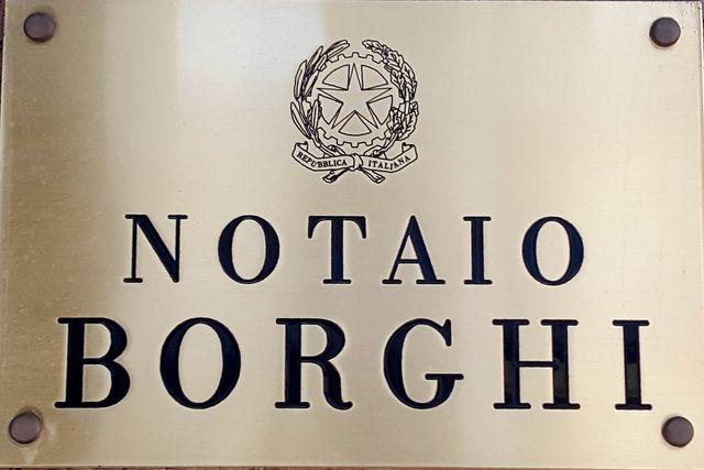 Il notaio Nicoletta Borghi