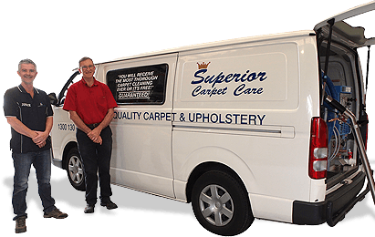 Superior Carpet Care Van