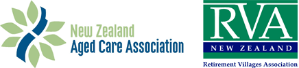 NZACA and RVA New Zealand logos