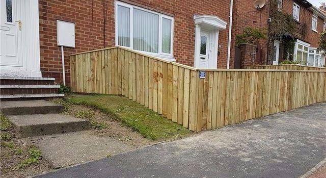 Irregular fencing surface