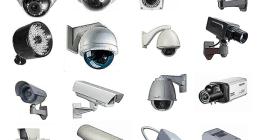 Vari modelli di cameras di video sorveglianza