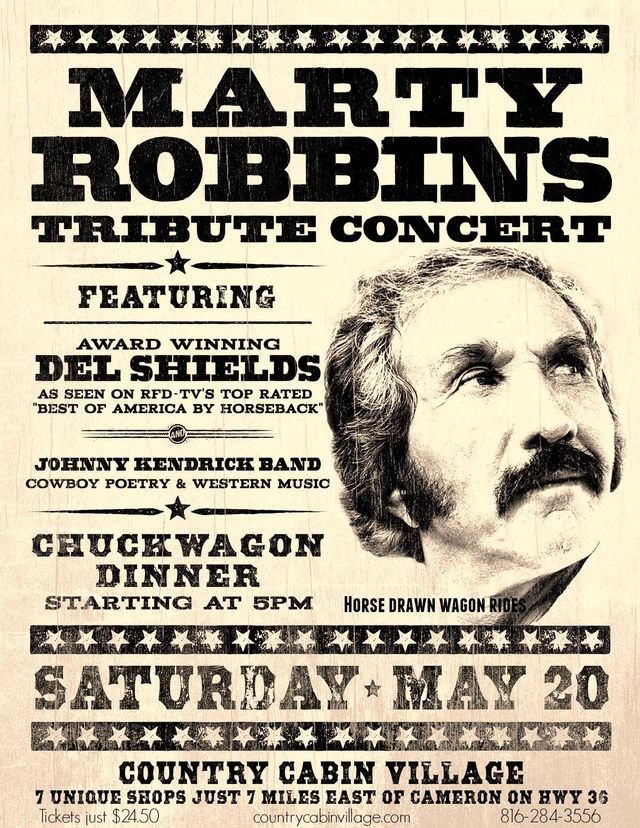 Marty Robbins Tribute Concert