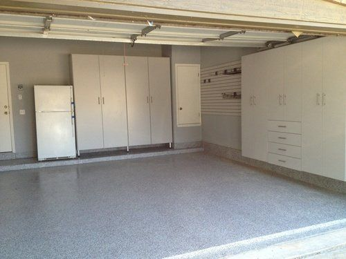 Garage With Storage On All Walls