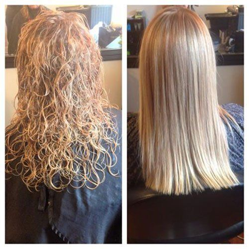 Hair salon keratin smoothing treatment gallery spartanburg sc palmetto style salon - Salon straightening treatments ...