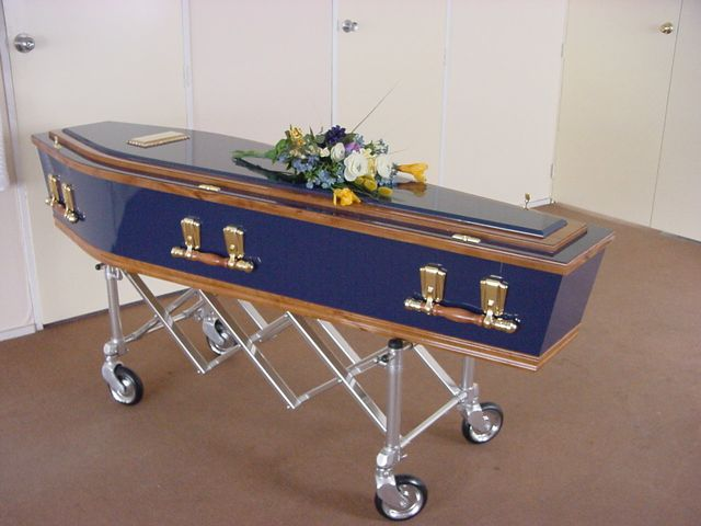 A funeral memorial in Palmerston North