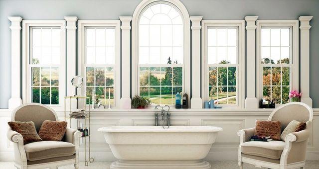 due poltroncine con vasca da bagno