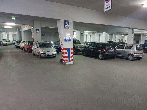 parcheggio autorimessa