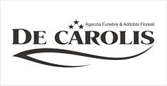 AGENZIA FUNEBRE - FIORERIA DE CAROLIS - LOGO