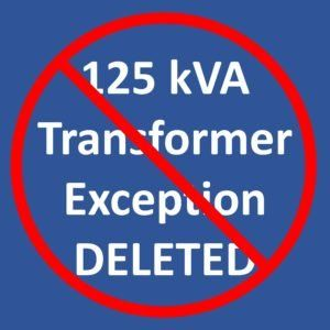 66efdc62d557 2018 IEEE 1584 – 125 kVA Transformer Exception DELETED!