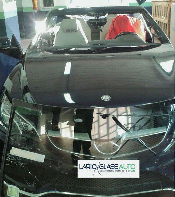 Sostituzione dei vetri per auto a Lurate Caccivio