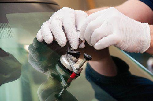 Macchina dopo la riparazione dei vetri a Lario Glass Auto in Lurate Caccivio