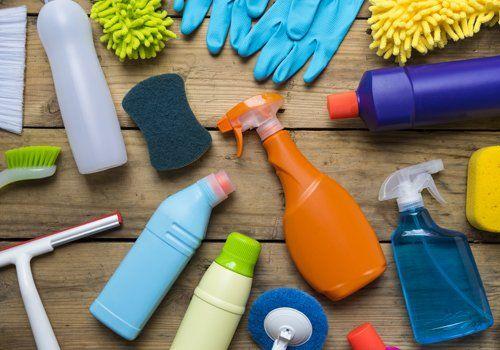 Attrezzature e materiali di qualità per la pulizia