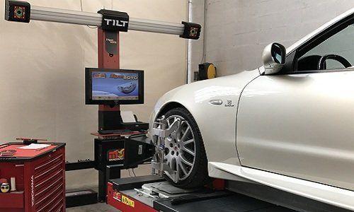 Equilibratura elettronica delle ruote