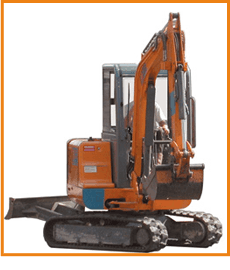 Plant Hire - Worcester, Gloucestershire - White Plant Hire - Digger 2