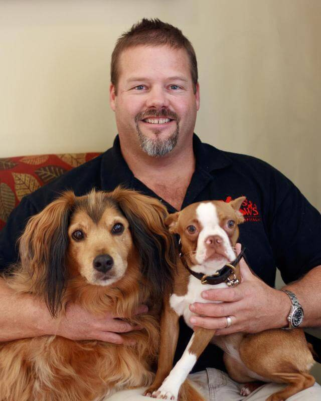 Dr Sam Smith, one of our doctors that provide veterinarian services