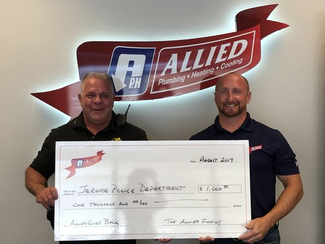 Giving Back Springfield Il Allied Plumbing Heating