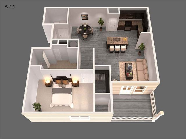 Awesome Spacious Apartments Louisville Ky The Willard At Download Free Architecture Designs Scobabritishbridgeorg