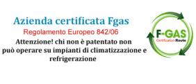 certificati Fgas