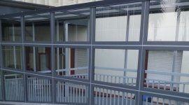 vetrata per ospedale