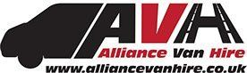 AVA Alliance Van Hire Company Logo