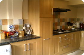 Kitchen facelift in Bognor Regis