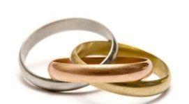 braccialetti, oro rosso