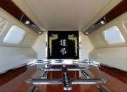 interno di carro funebre