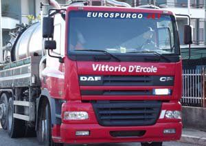 camion rosso antispurgo