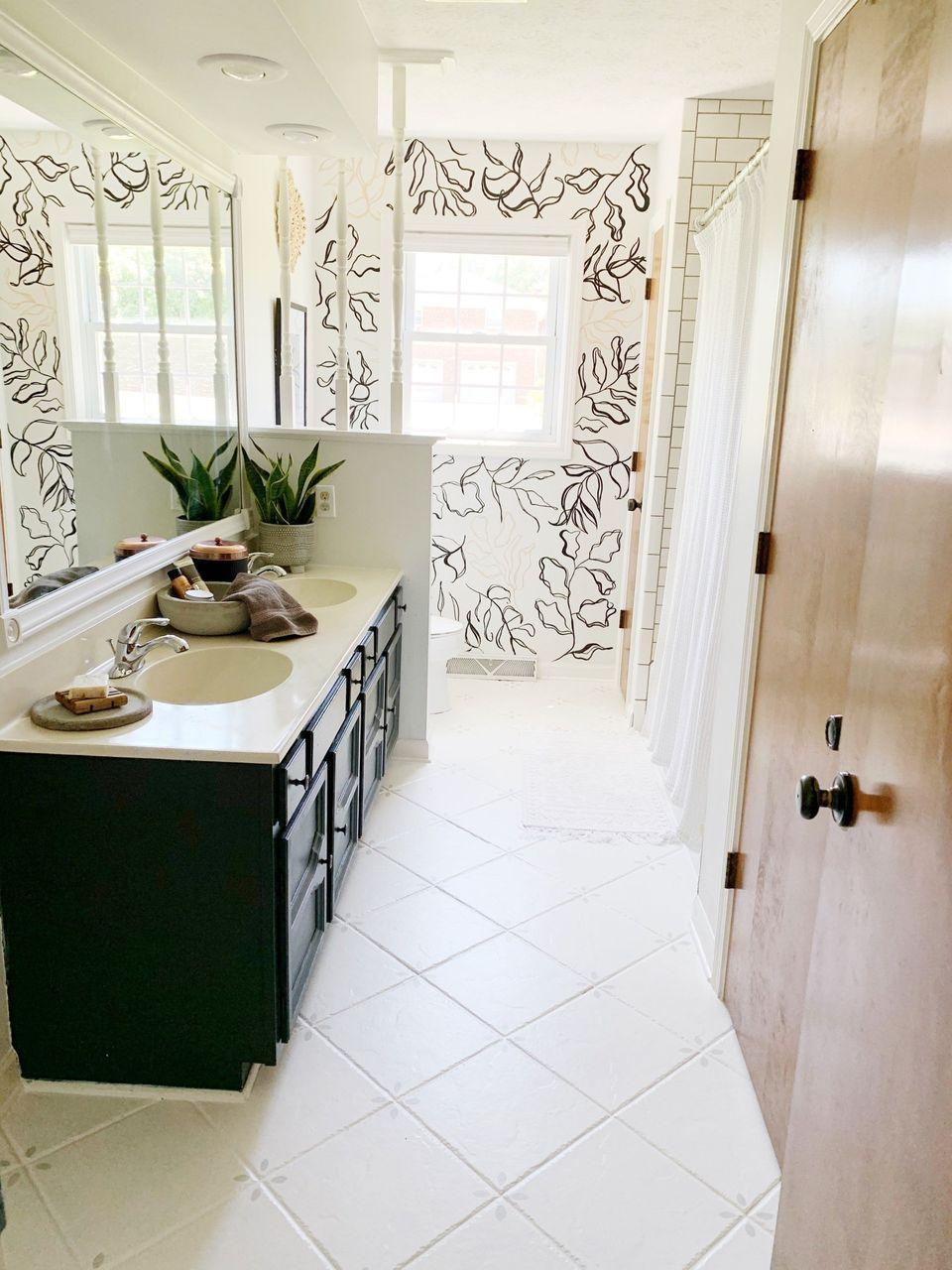 Rust Oleum Home Floor Coating for Painting Tile Floors