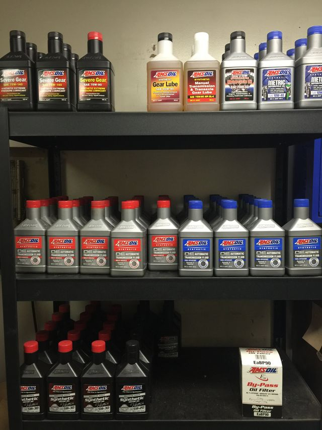 Oil change being done by expert in Midvale, UT