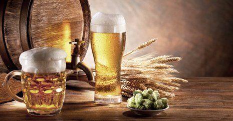 brewed beer