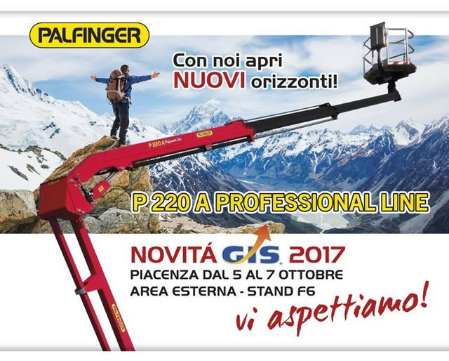 palfinger, presentazione p220a