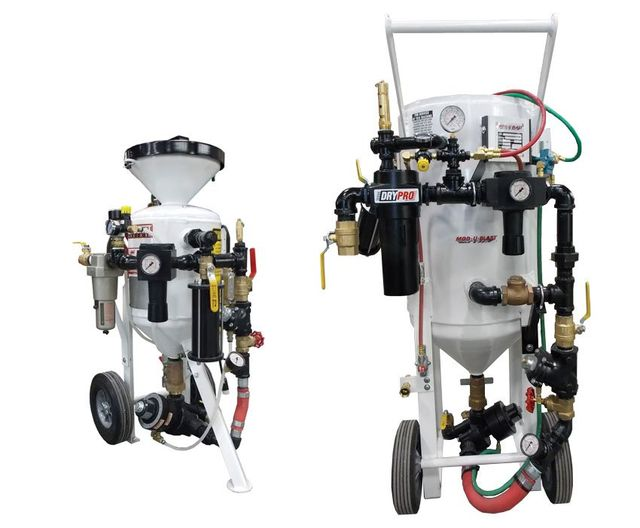 Soda Blasting Machines - Manus Abrasive