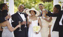wedding salute