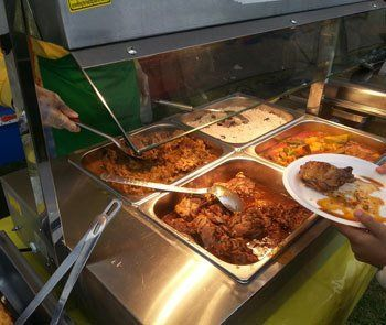 Caribbean food catering