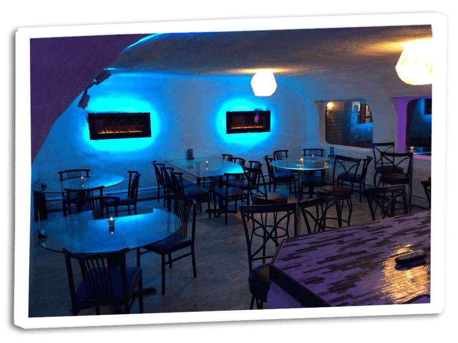 The Igloo Ice Lounge Restaurant in Lyndonville, VT