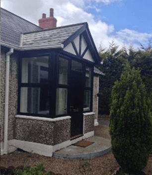 double glazed porch door