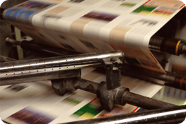 Leaflet printing - Leighton Buzzard, Bedfordshire - SL George - Printing