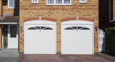 uPVC garage doors