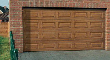 single panel garage door