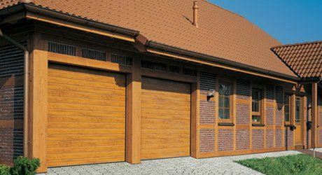 garage doors with unique finishes