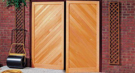 2 panel garage door