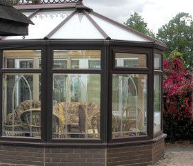 Glass window cleaning - Newhall, Derbyshire, Staffordshire, UK - DH Cleaning Services - Conservatory