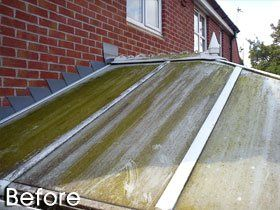 Pressure cleaning - Newhall, Derbyshire, Staffordshire, UK - DH Cleaning Services - Patio cleaning