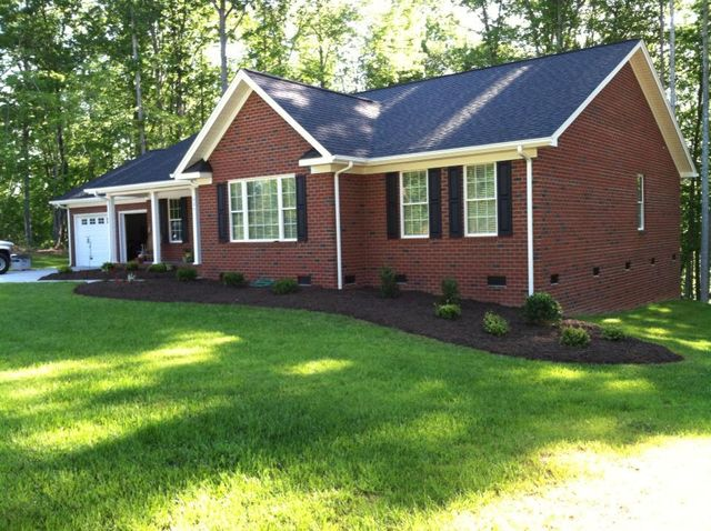 garden maintained by landscaping services in Asheboro, NC