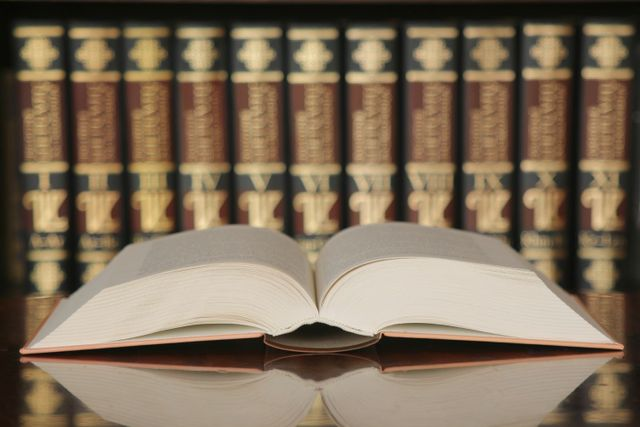 Law books at a tax attorney firm in Pearl City, HI